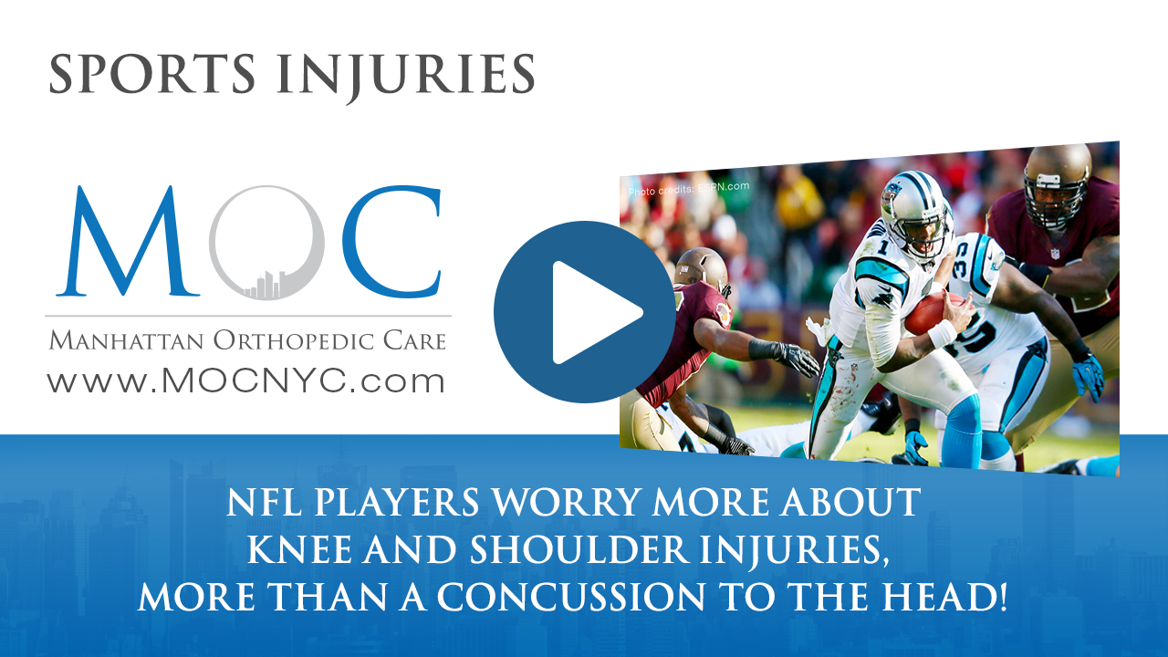 nfl shoulder and knee injuries