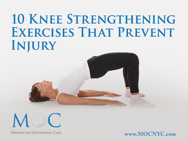 10 Knee Strengthening Exercises That Prevent Injury