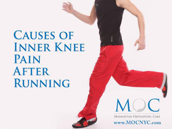 inner knee pain running