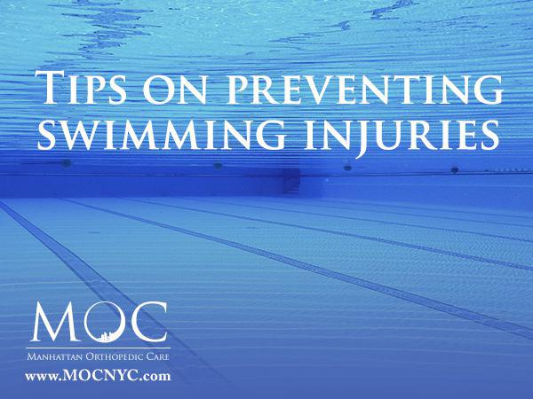 swimming injuries