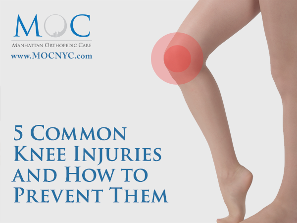 5 Common Knee Injuries and How to Prevent Them