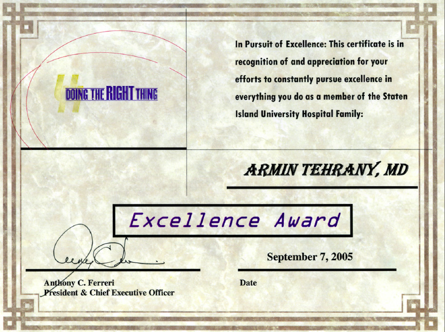 armin tehrany orthopedic doctor