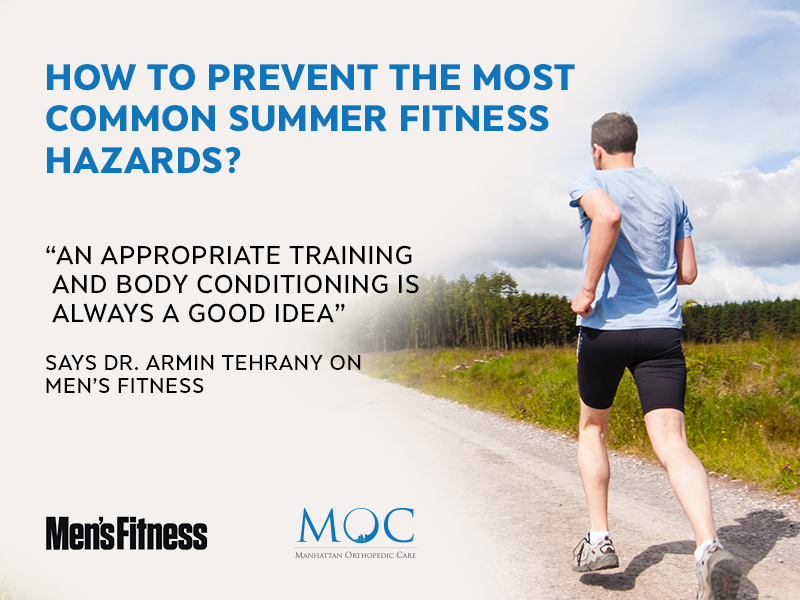 summer fitness hazards