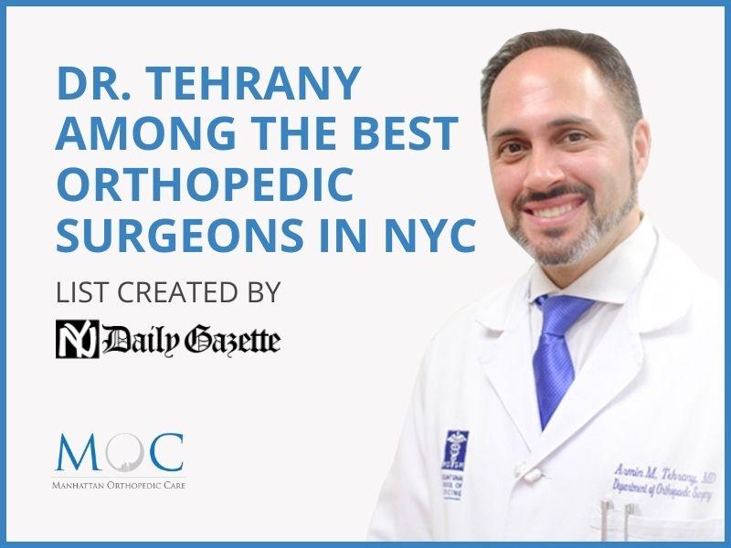 top orthopedic surgeons nyc