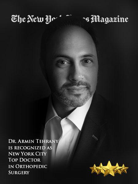 Meet Dr  Armin Tehrany | Best Orthopedic Doctor NYC